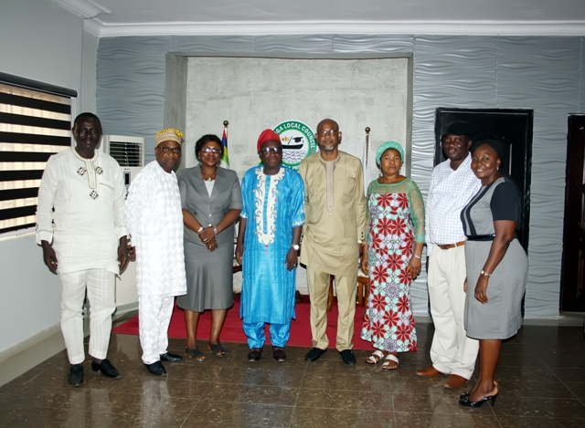 NOA WORKING VISIT TO BARIGA LCDA. EXECUTIVE CHAIRMAN – www.noa.gov.ng
